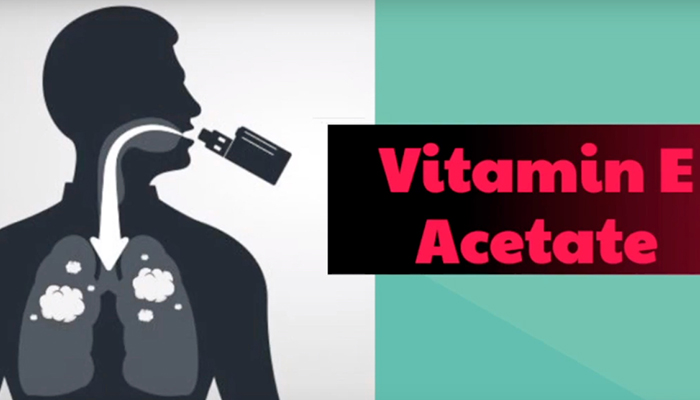 Vaping, vitamin E and acetate