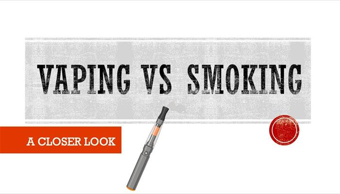 Vaping VS Smoking A Closer Look