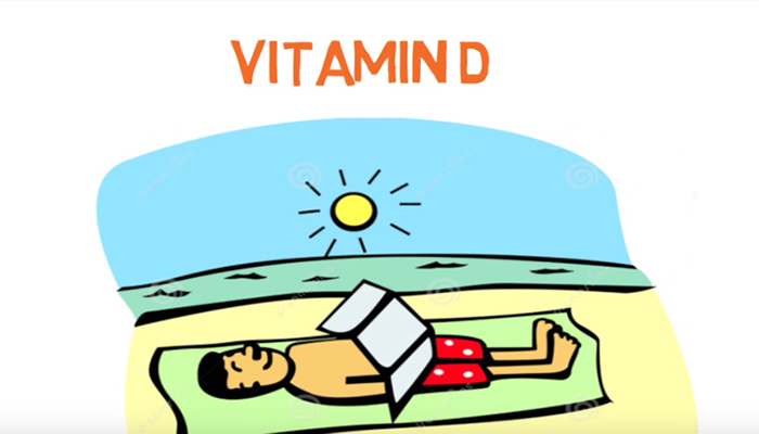 Vitamin D from sunshine