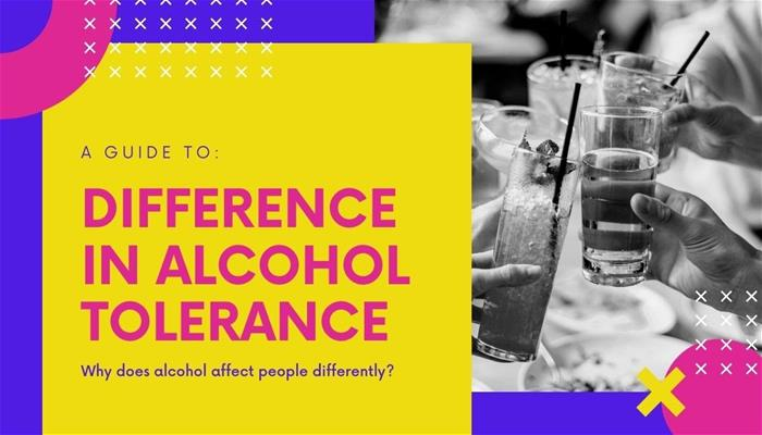 Why do we have different alcohol tolerances