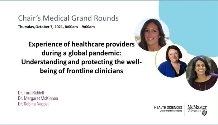 Chair Grand Rounds Oct 2021