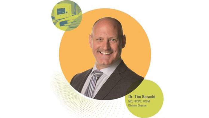 Dr. Tim Karachi, Director, Critical Care Division