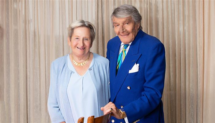 Margaret and Charles Juravinski have invested $3.3 million in collaborative research at Hamilton Health Sciences, McMaster and St. Joseph's Healthcare Hamilton.