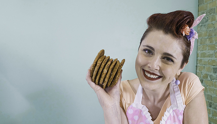 BHSc alumna Katarina Polettois the owner of Dolled Up Desserts.
