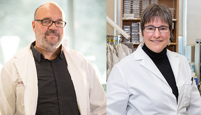 Gerry Wright and Karen Mossman have received CIHR funding for COVID-19 research.
