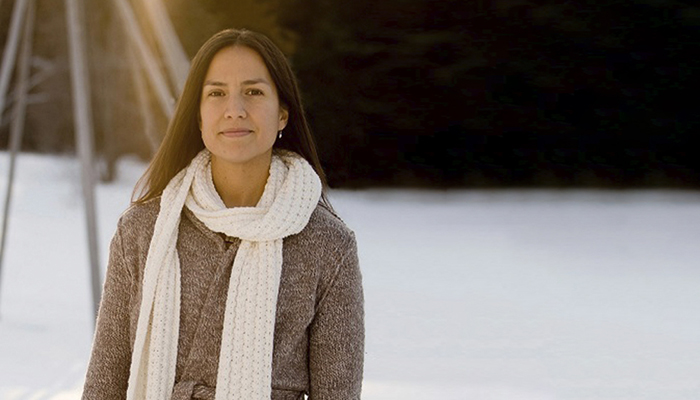 Indigenous health researcher and advocate Dr. Nadine Caron