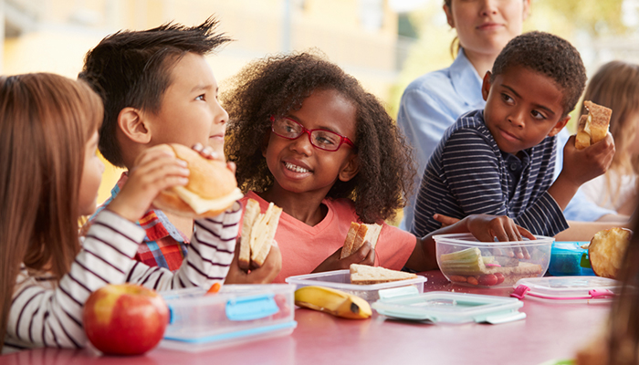 New guidelines recommend there be no site-wide food prohibitions in schools and child care centres