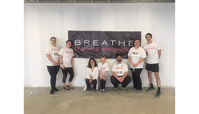 FIRH team at 2018 stair-climb