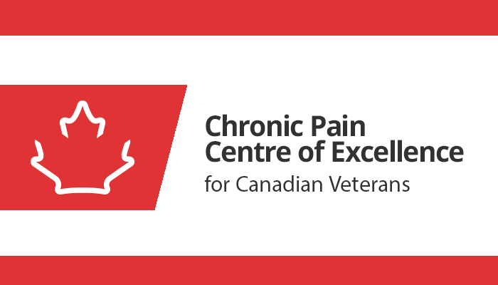 Chronic Pain Centre of Excellence for Canadian Veterans logo