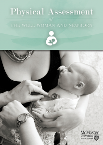 physical assessment of the well woman and child - cover
