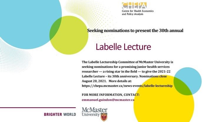 Labelle Lecture poster imabe