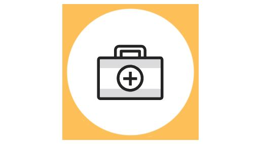 An Icon of a briefcase